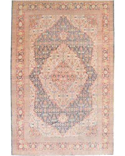 Antique Persian Hajji Jallili Tabriz