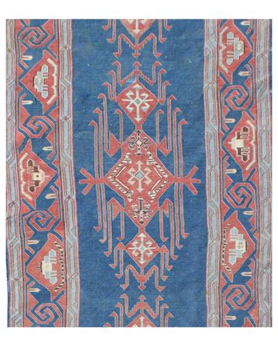 Antique Caucasian Afghan Avar Kelim