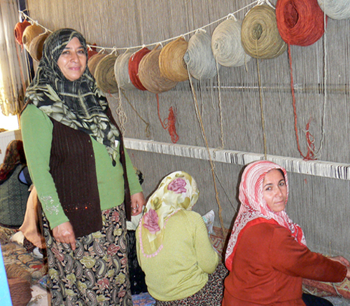 Women on Loom